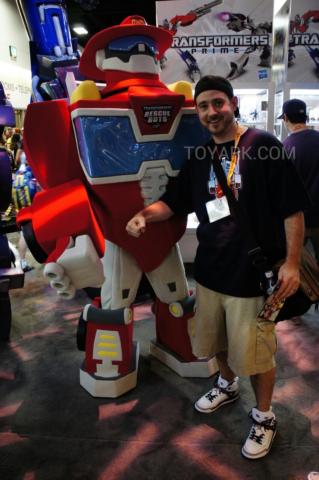 Sdcc 2012 Rescue Bots Heatwave Costume Performer