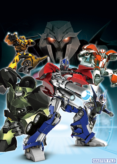 Japanese Transformers Prime Coloring Contest - Transformers News ...