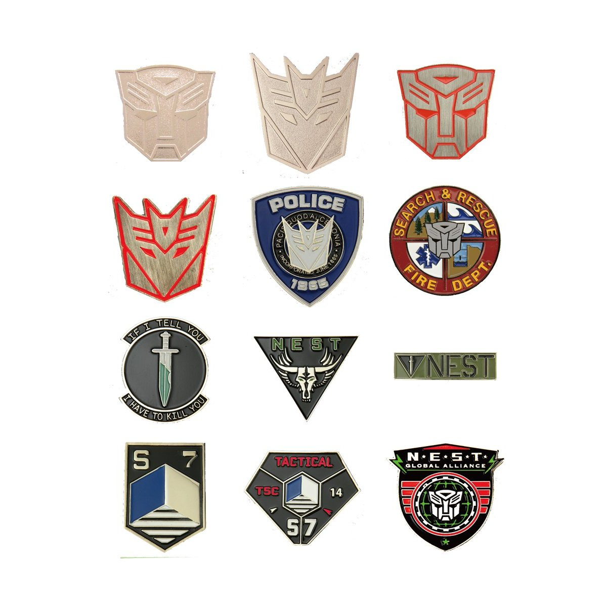 Transformers Pins Collection Revealed Transformers News