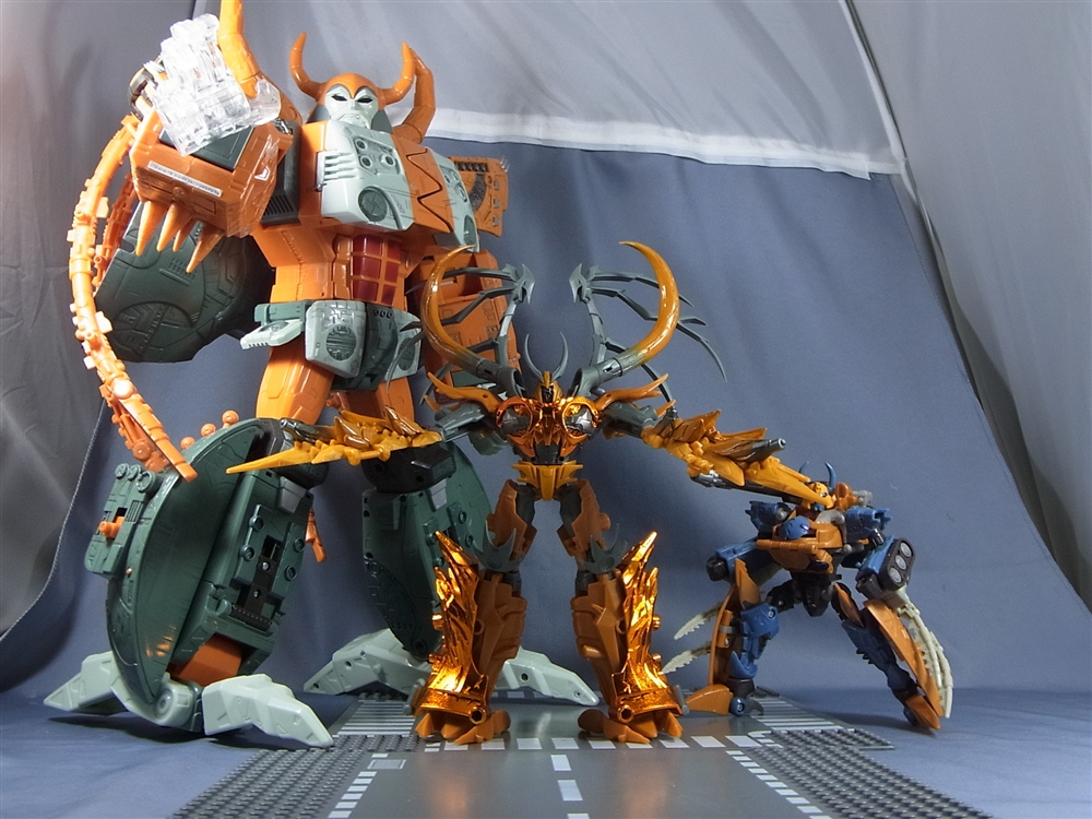 Transformers Prime Gaia Unicron And Arms Master Optimus