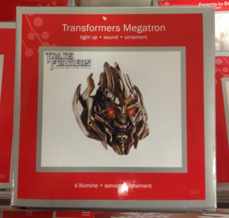American greetings 2012 transformers movie megatron ornament following on from the american greetings transformers movie themed ornaments from the last few years this year american greetings is offering up a movie m4hsunfo