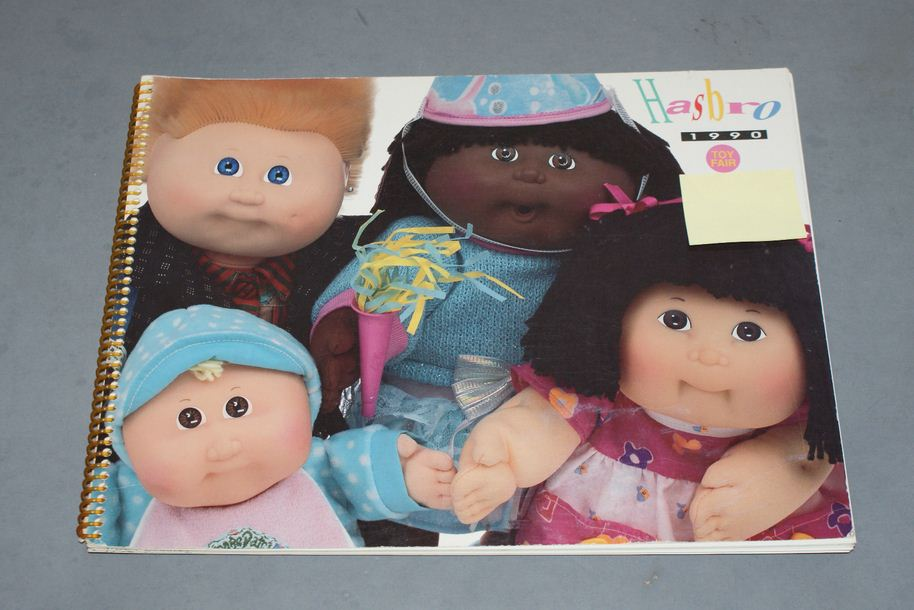 1990-toy-fair-hasbro-cabbage-patch-kids
