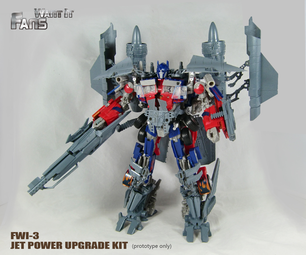 fans want it fwi-3 rotf leader optimus prime jet(fire)pack | tfw2005