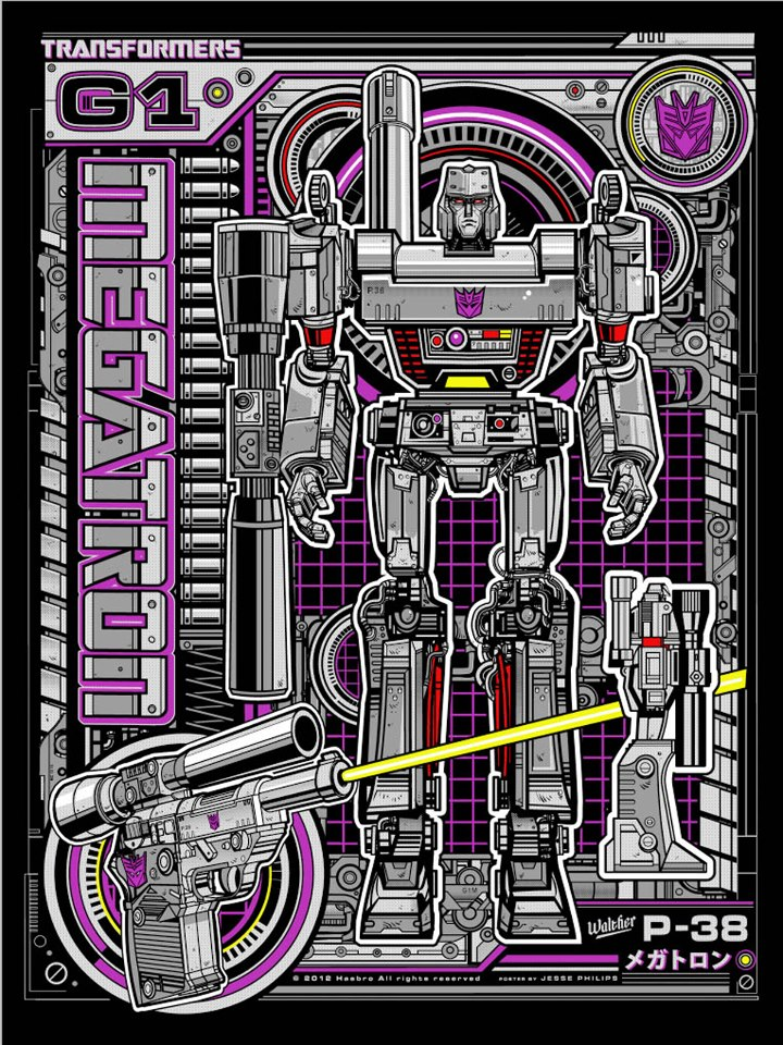 acid-free-megatron-screen-print