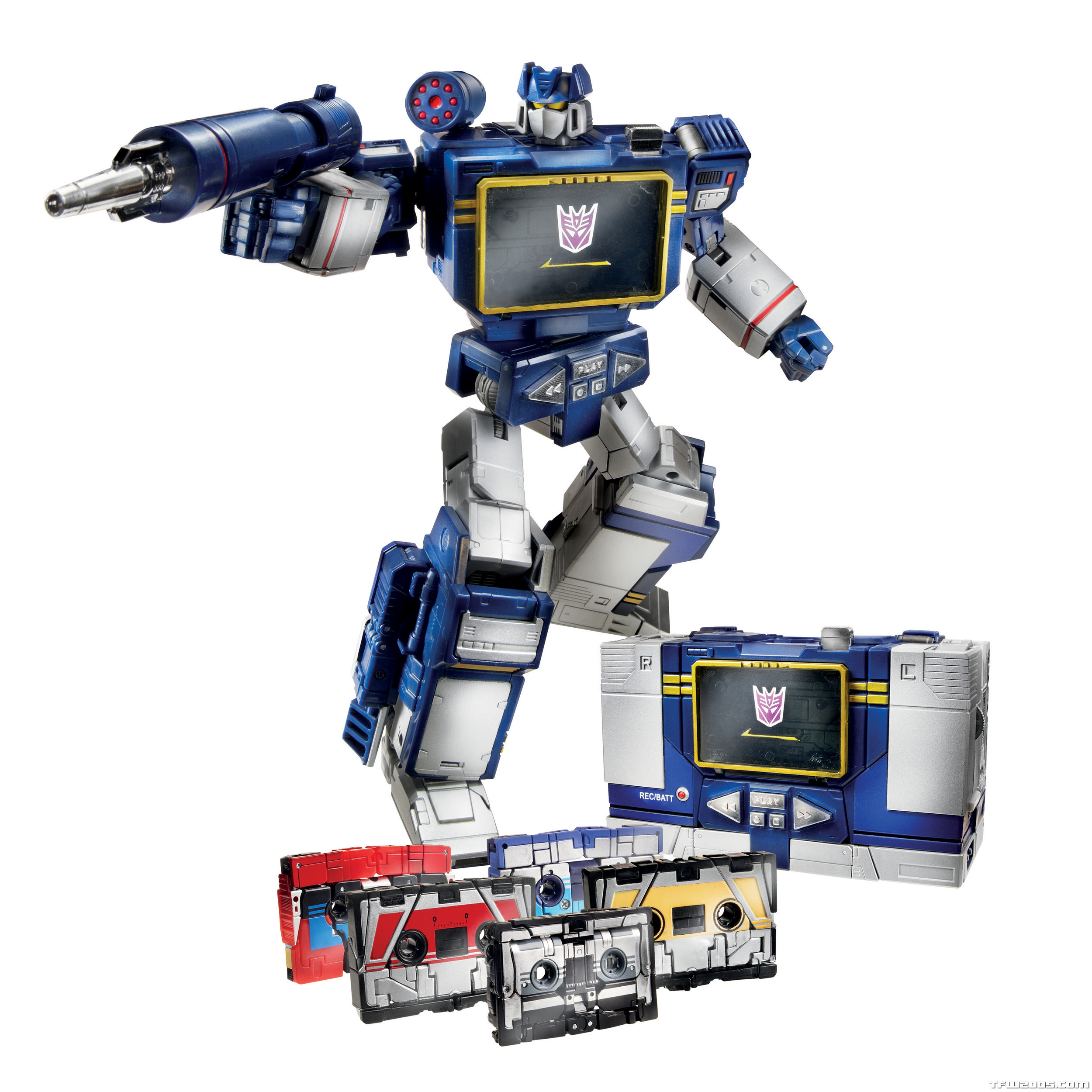Transformers Masterpiece Soundwave Hasbro Release Official ...