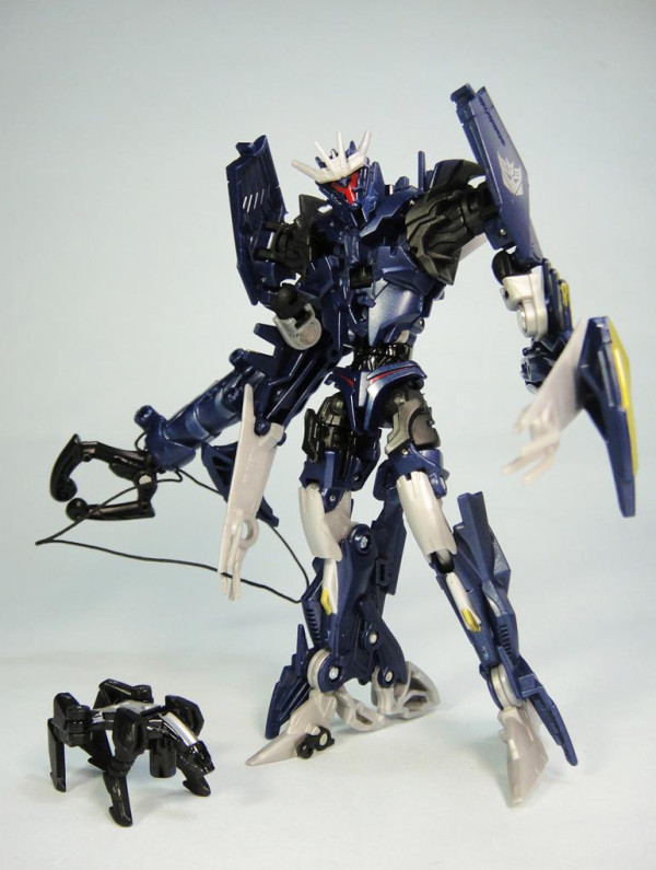 New Blue Transformers Robots in Disguise Combiner Force Soundwave