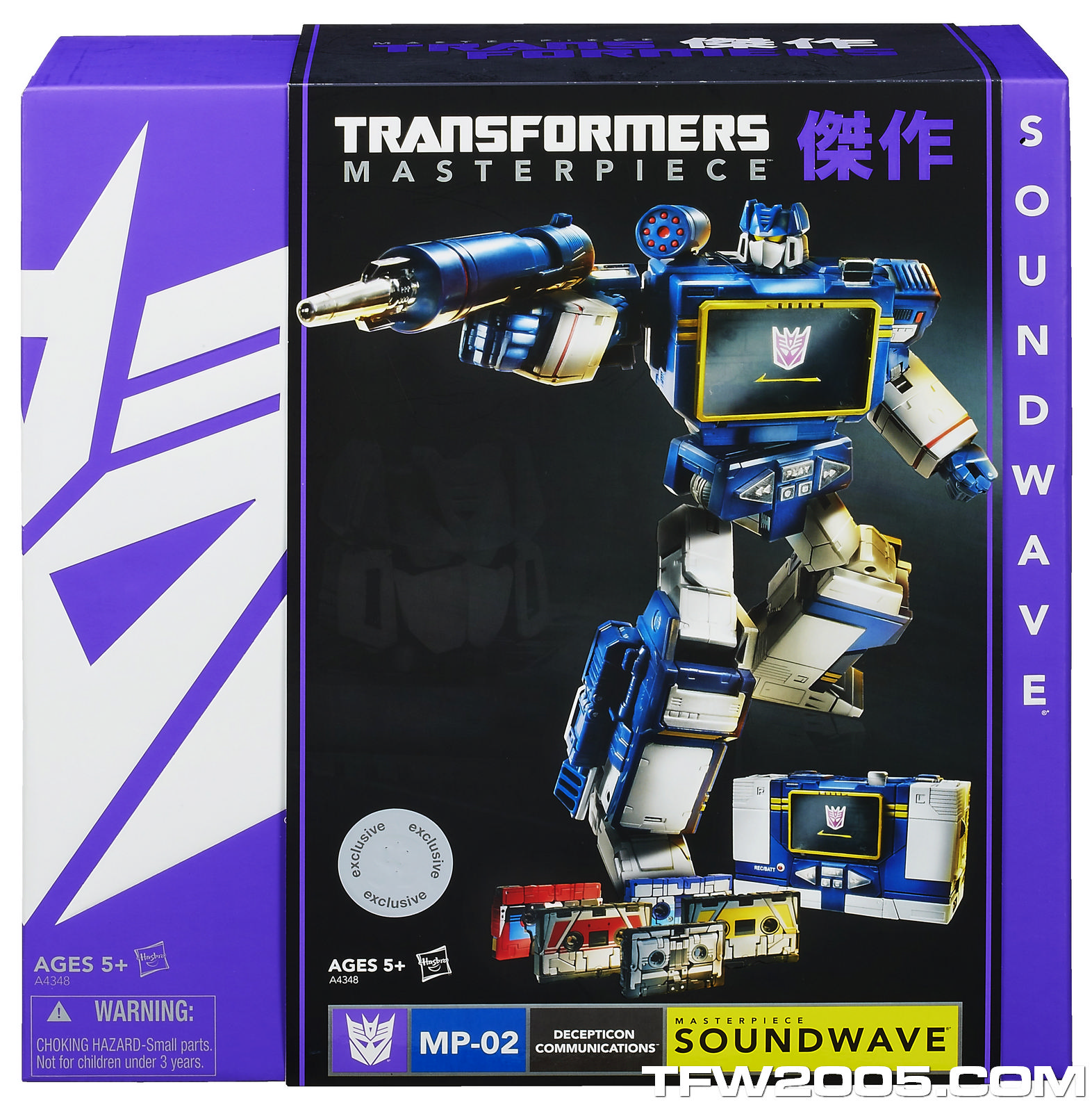 masterpiece soundwave how tall