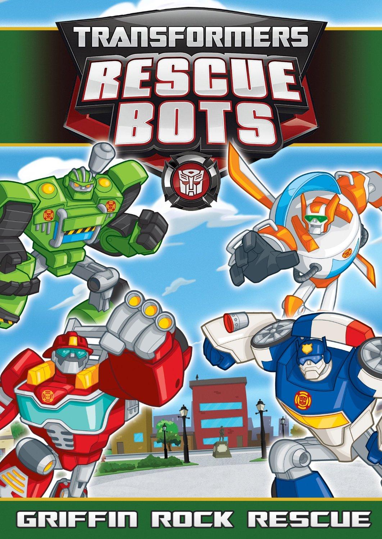 Rescue Bots Griffin Rock DVD Cover Art