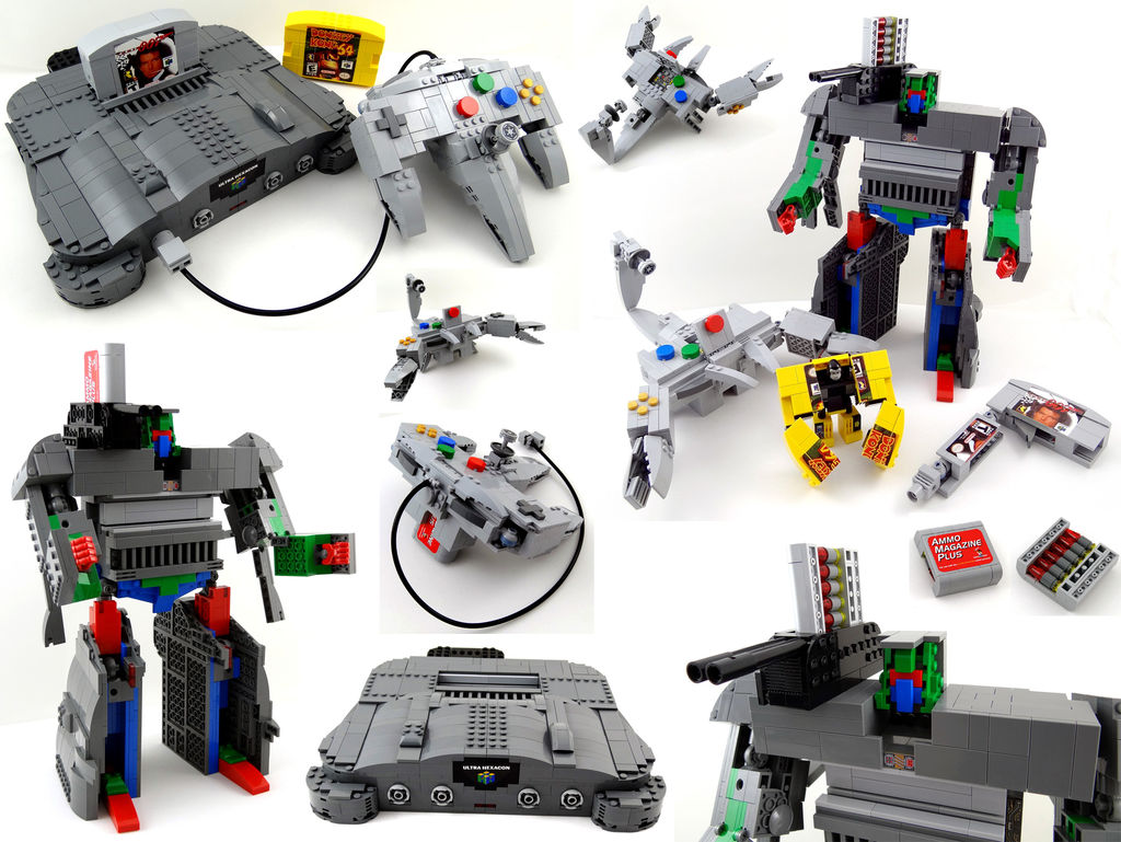 Lego Transformers Toys : Lego n transformer os geekporn