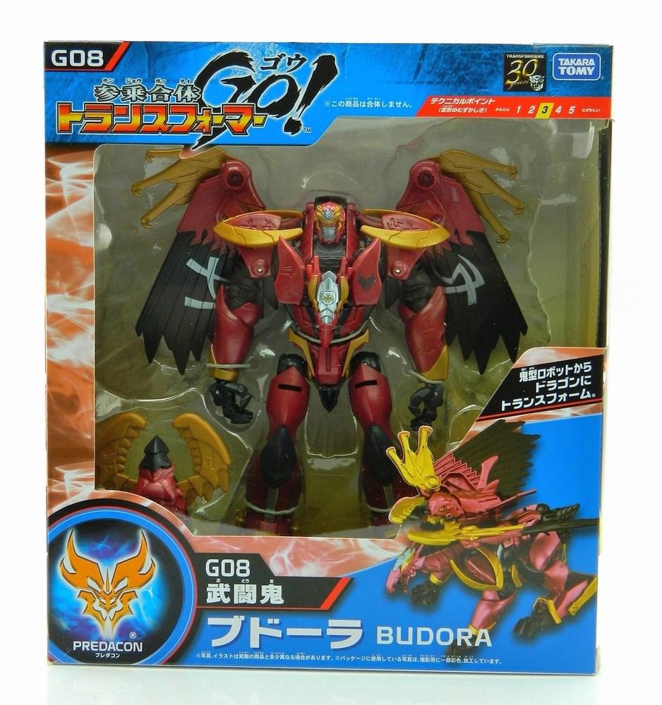 La línea de juguetes Transformers Go! coemnzó a venderse en Abril, mientras que el anime salió a la venta en Julio. Foto: tfw2005.com