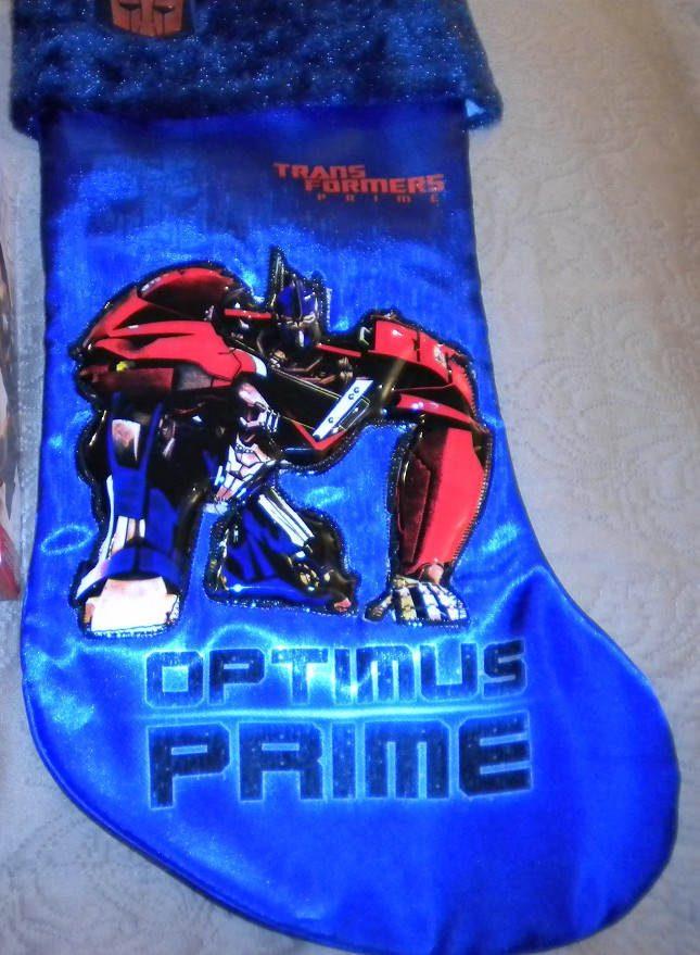 Transformers Prime Christmas Stocking and Ornaments - Transformers ...