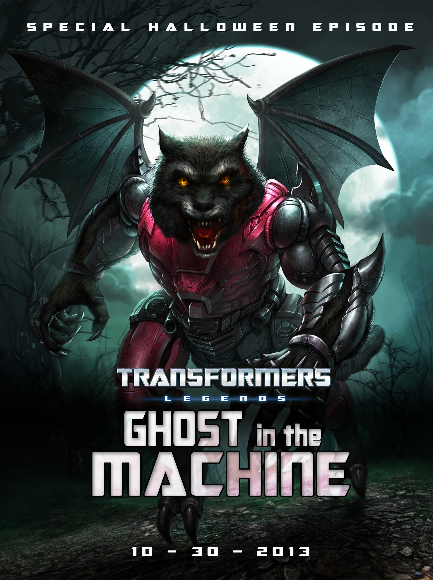 transformers ghost in the machine