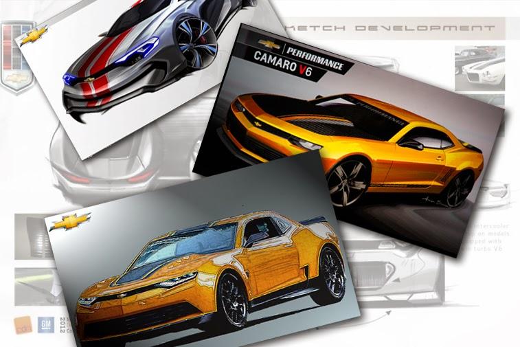 Bumblebee Concept Camaro 0