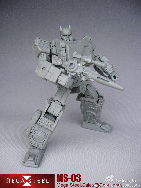 [Mega Steel] Produit Tiers - MS-02 (aka Soundwave/Radar) + MS-03 Buster (aka Blaster/Tempo) + MS-01 Tronus (aka Mégatron) IDW MS-01-Pic-1_1384437703