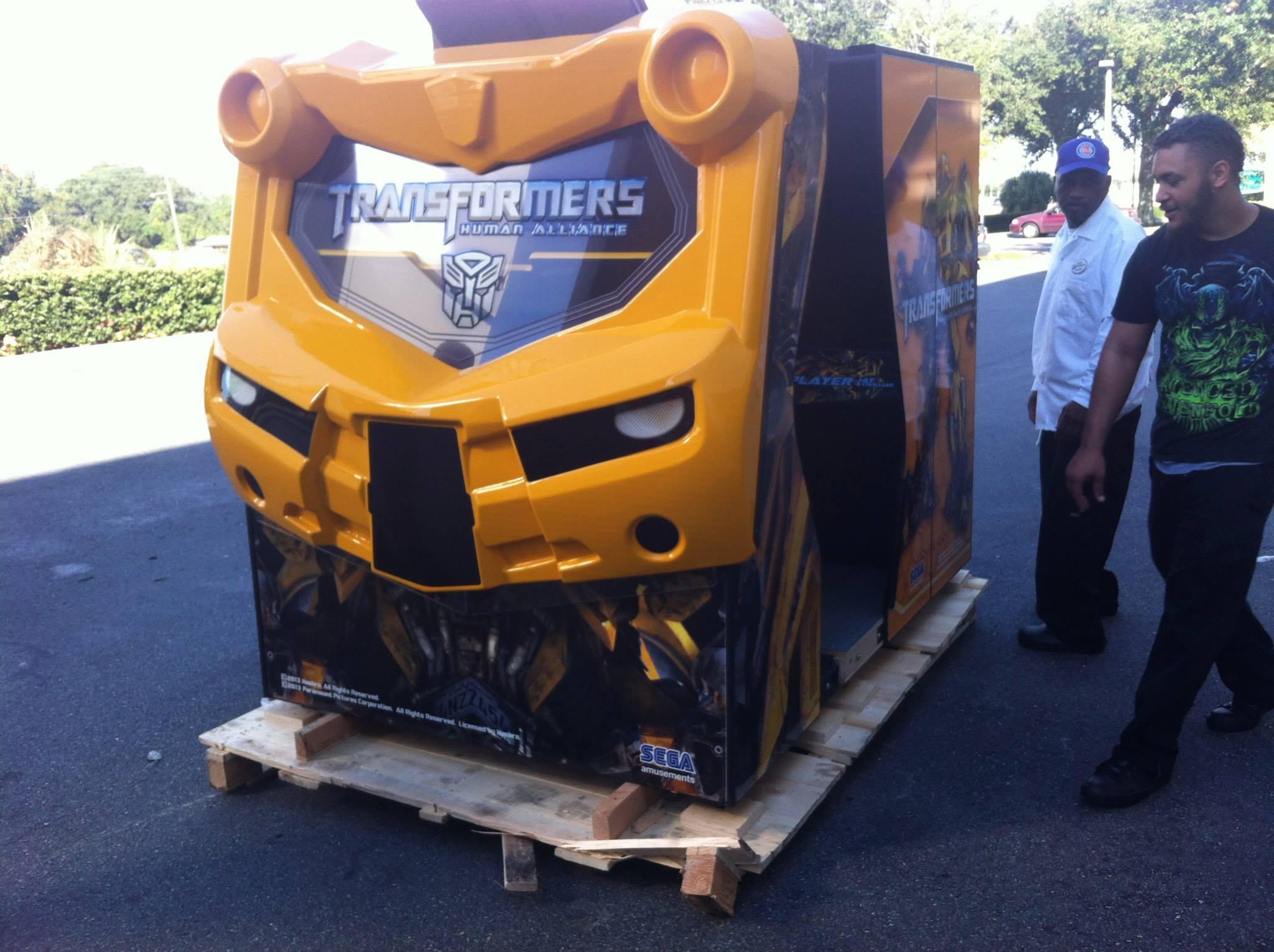 Sega Transformers Human Alliance Arcade Machine | Liberty Games