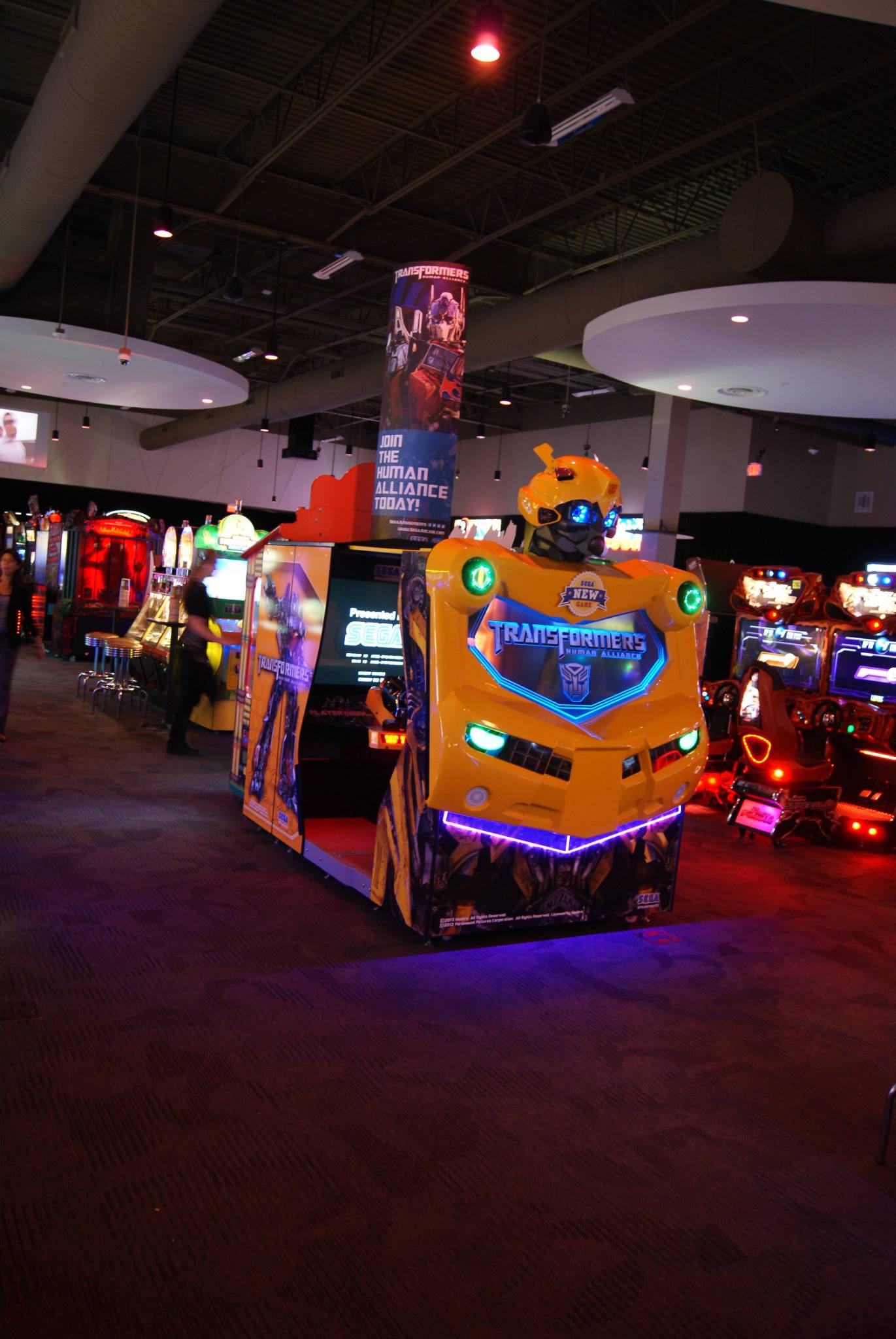 "Transformers: Human Alliance 42"" SD Upright Arcade Machine - Video ..."
