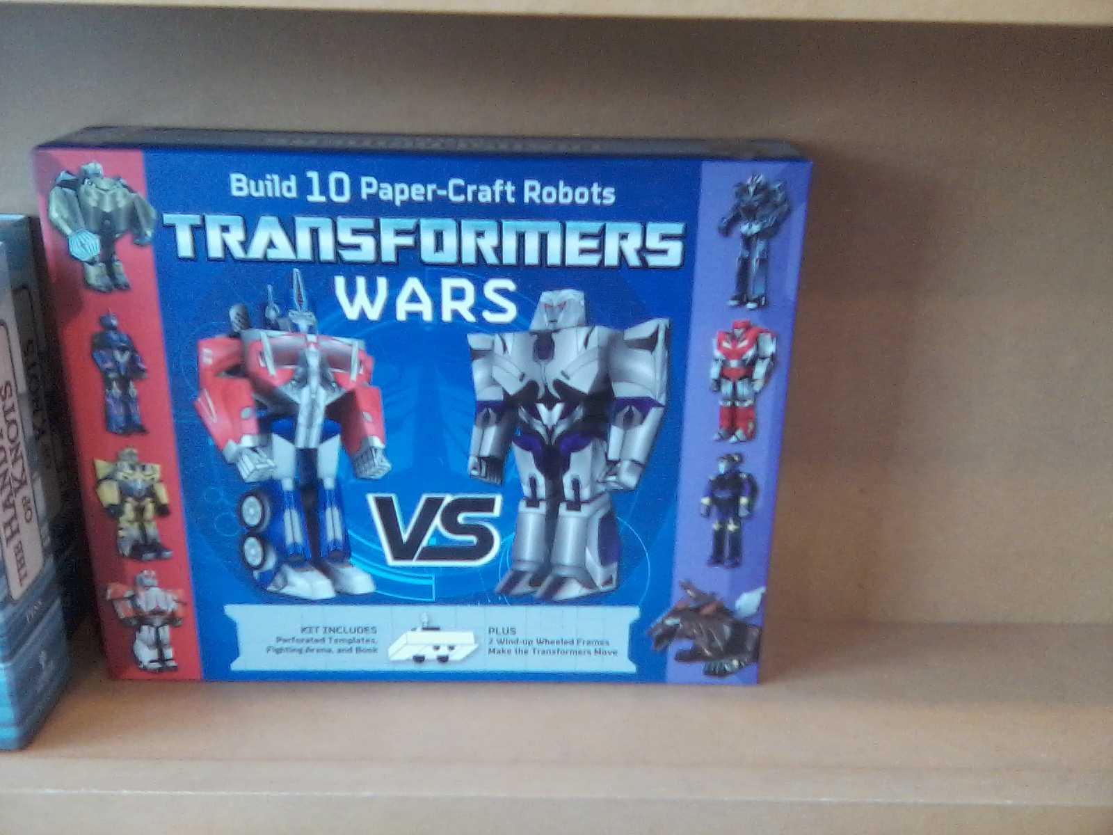 Transformers wars papercraft book found at retail transformers just jeuxipadfo Images