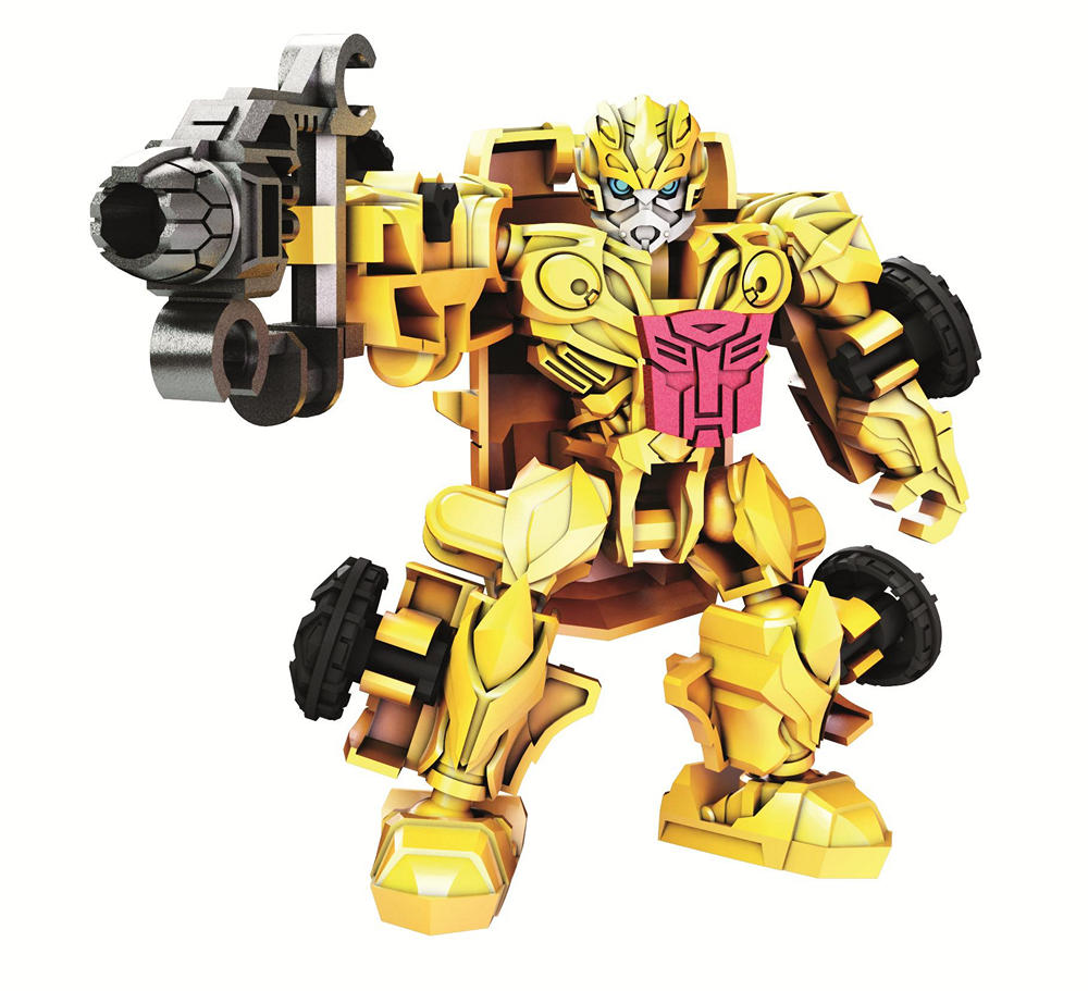 Transformers Construct Bots Riders Bumblebee Robot A6169
