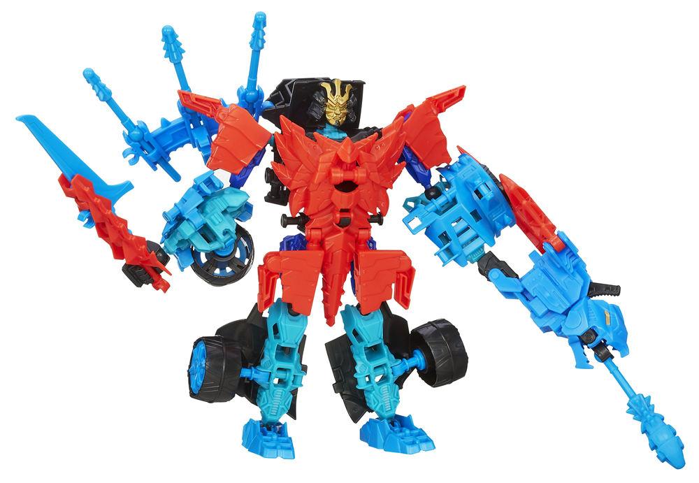 Transformers Construct Bots Warriors Drift Roughneck