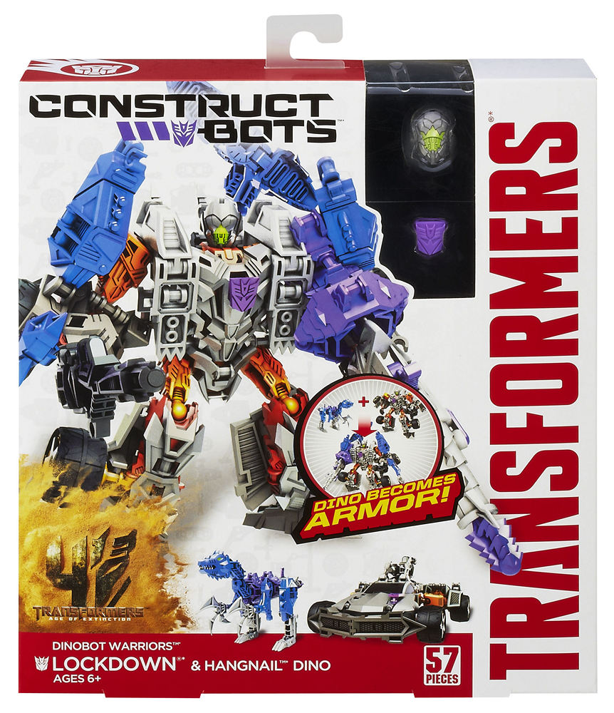 Transformers Construct Bots Warriors Lockdown Hangnail
