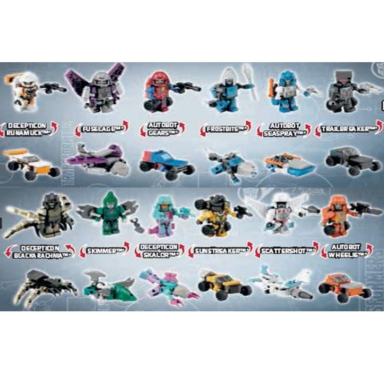 Transformers Movie Kre O Microchangers Wave 2 Revealed