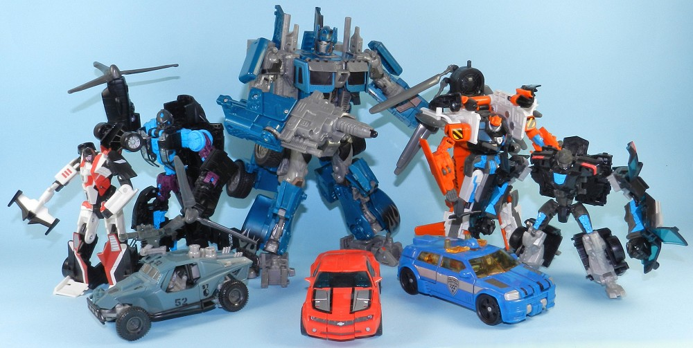 Toys For Days : Years of transformers in days