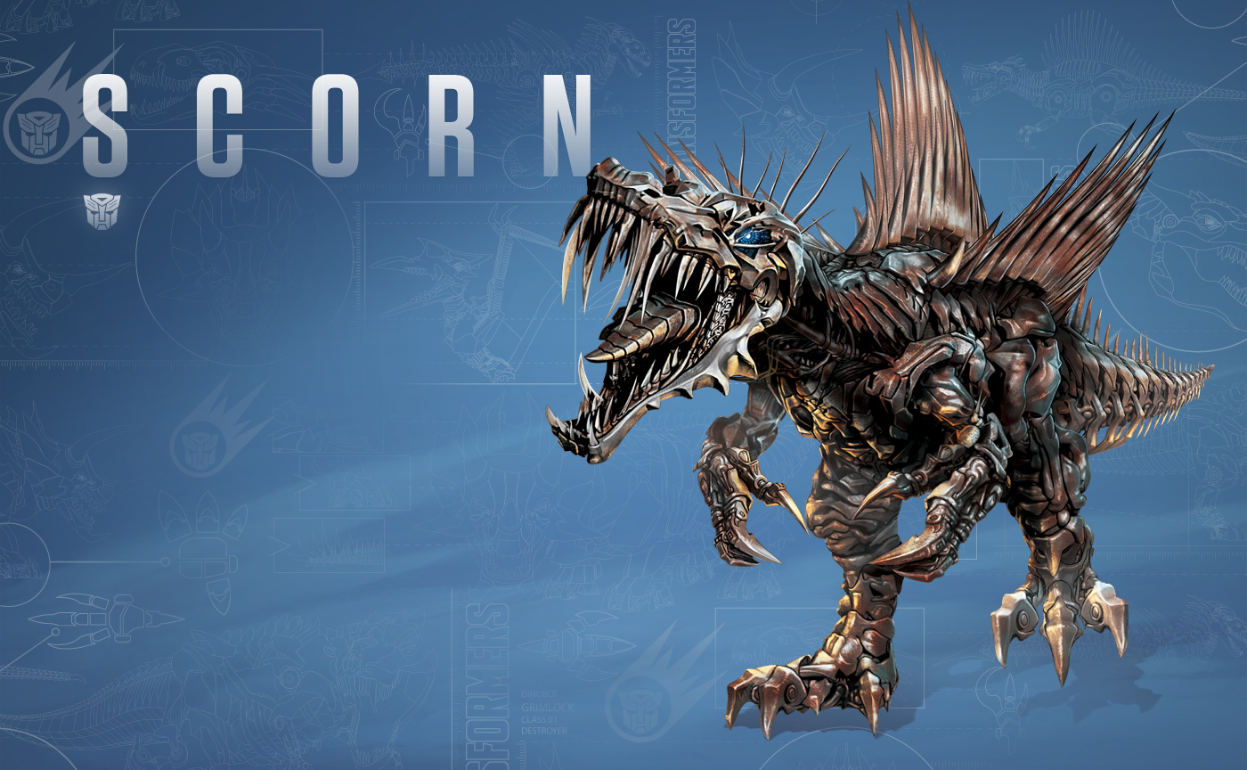 New Images Reveal The Dinobot Line Up Of Transformers Age Extinction