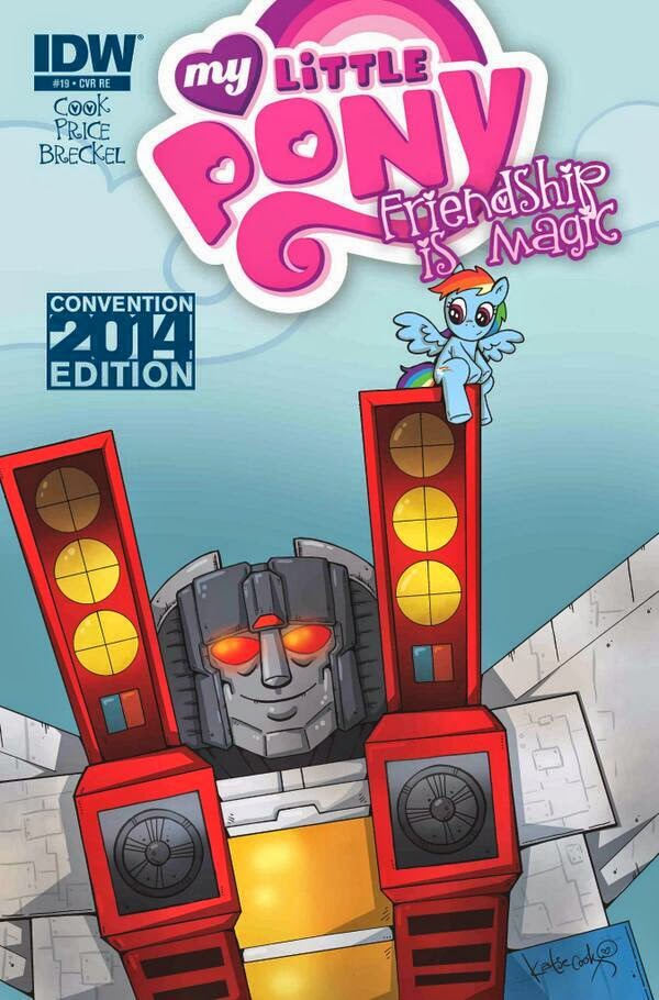 idw my little pony issue 19 transformers variant cover