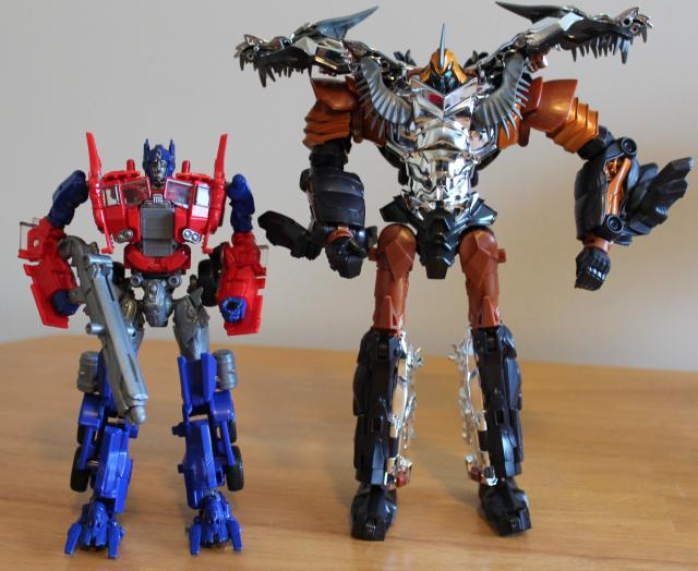 how to transform grimlock