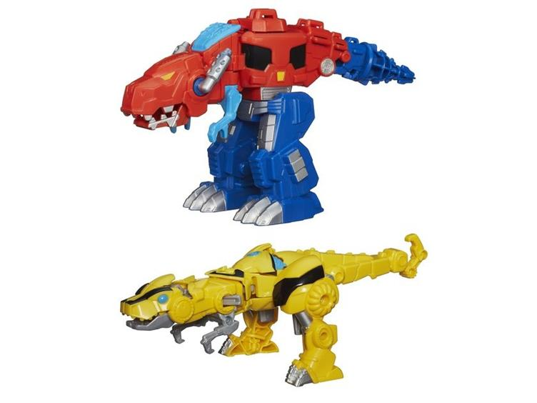 Rescue bots rescan bumblebee dino mode revealed - Dinosaure transformers ...