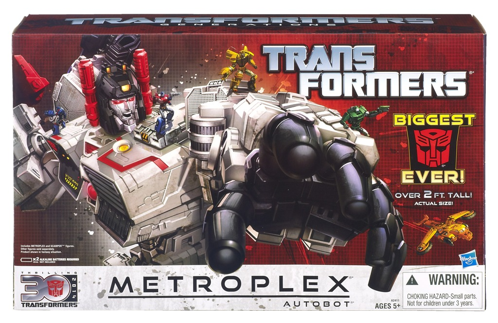 80s Toy Expo will be ... & 80s Toy Expo Door Prize Announcement #1: Generations Metroplex ...