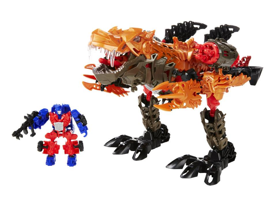 Optimus Prime Riding A Robot Dinosaur Your Argument Is Invalid