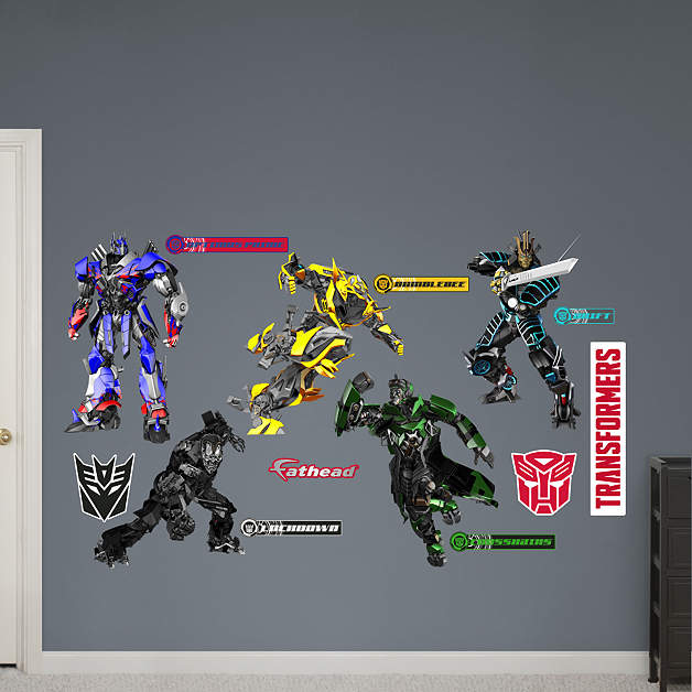 transformers age of extinction wall decals transformers