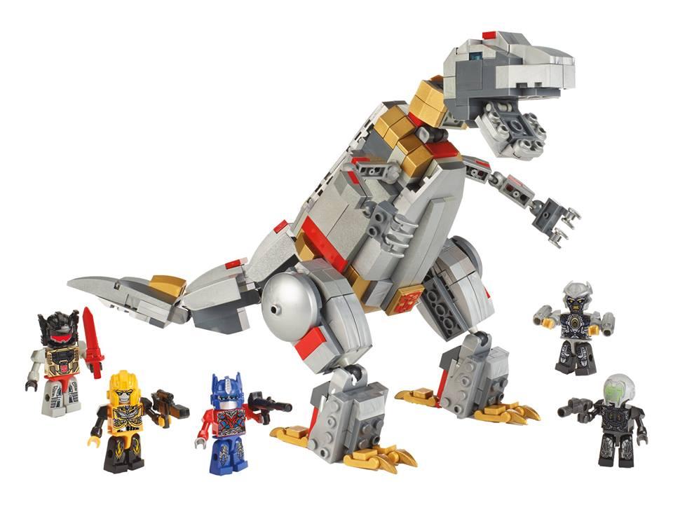 Kre O Grimlock Unleashed Set Official Images Transformers News
