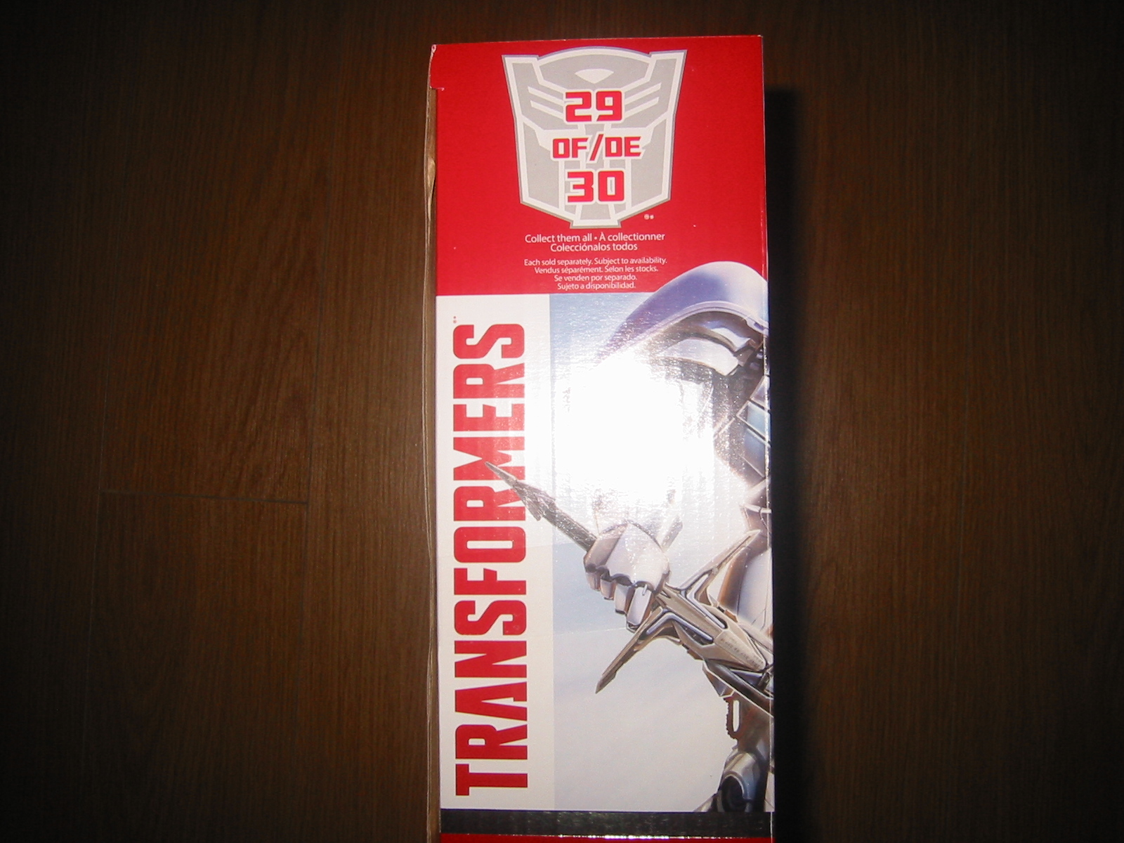 Target Exclusive Age of Extinction Silver Knight Optimus Prime with ...