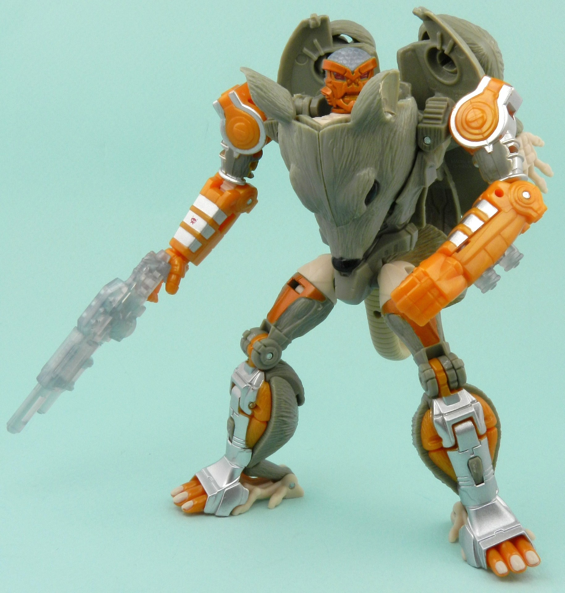 the rattrap The deluxe transmetal rattrap toy was given a white and orange deco and packed in with a 500-piece beast wars metals jigsaw puzzle from central hobby.