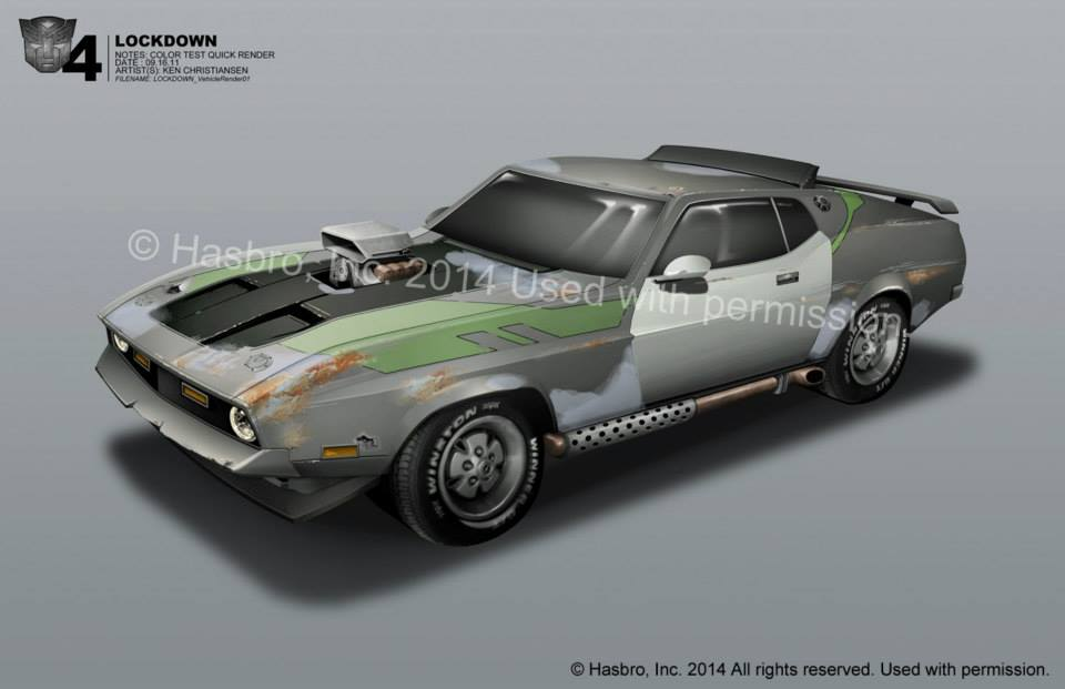 More Tf4 Concept Art From Ken Christiansen Lockdown Transformers