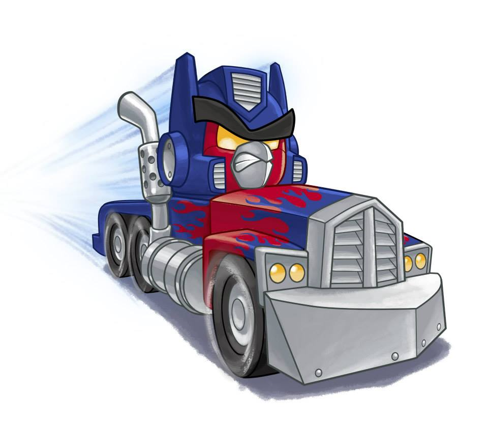 Transformers Angry Birds Images