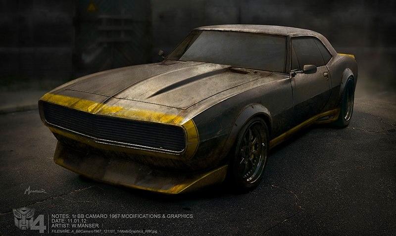 Image Gallery Transformers 4 1967 Camaro