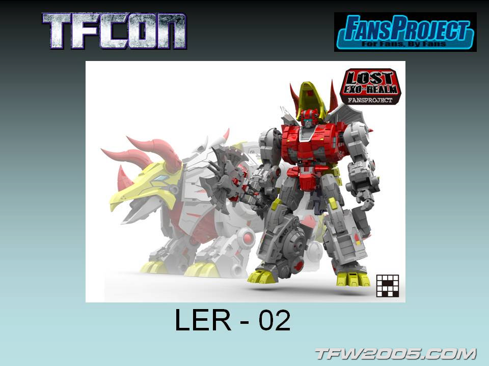 [FansProject] Produit Tiers - Jouets LER (Lost Exo Realm) - aka Dinobots TFCon-2014-Panel-164_1405198943