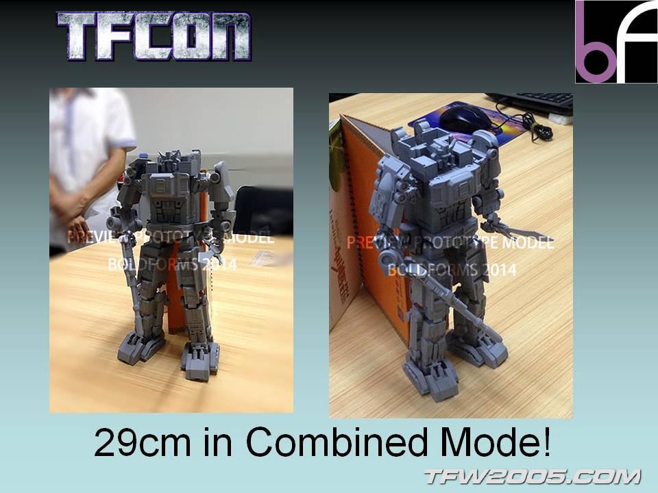 [Bold Forms] Produit Tiers - BF-01 Gladius (aka Mégatron G1) + Lone Wolf (aka Menasor/Menaseur G1) TFCon-2014-Panel-37_1405198846