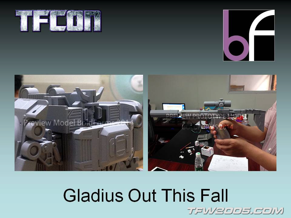 [Bold Forms] Produit Tiers - BF-01 Gladius (aka Mégatron G1) + Lone Wolf (aka Menasor/Menaseur G1) TFCon-2014-Panel-38_1405198846