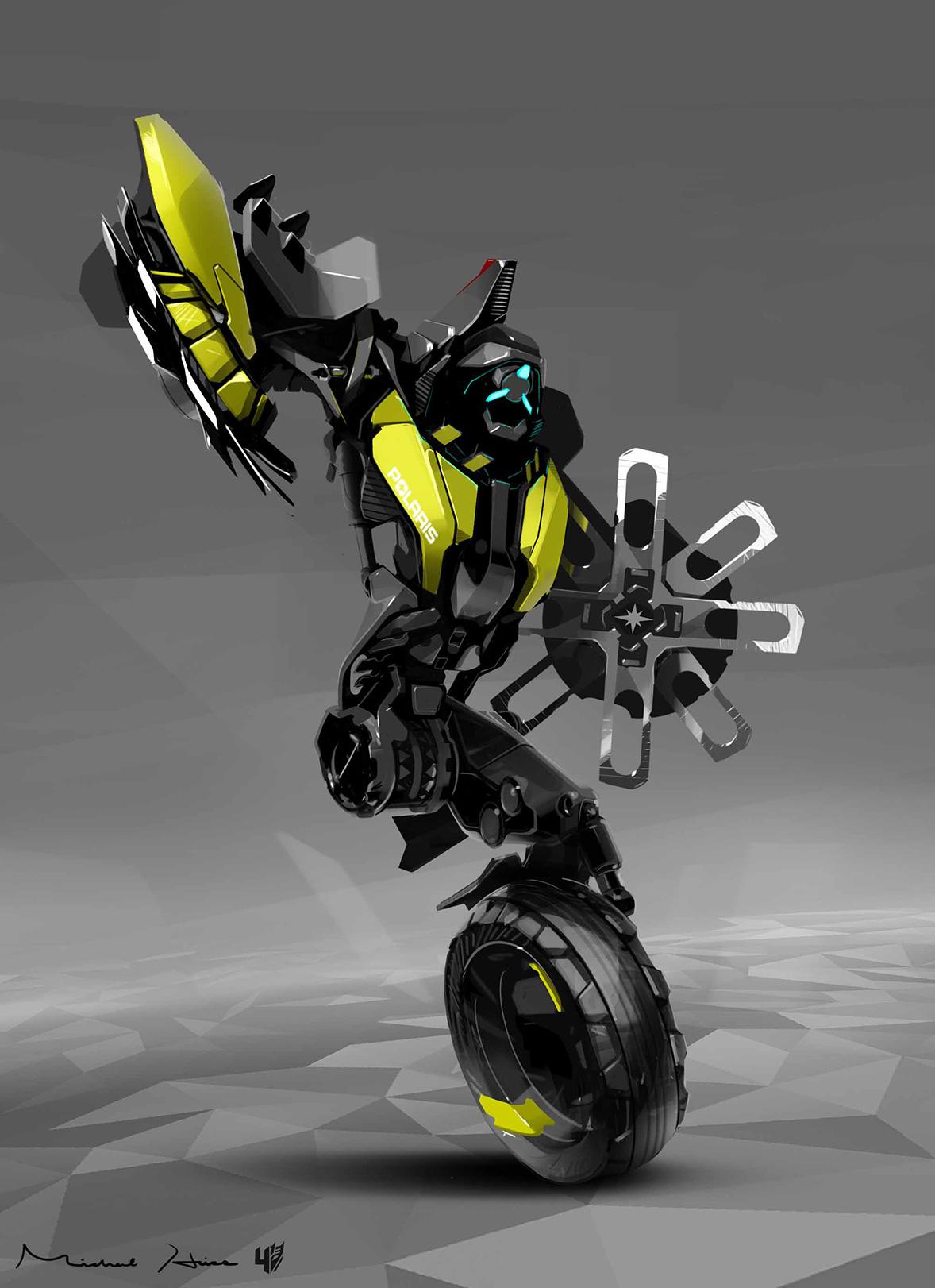 transformers age of extinction unused polaris robot