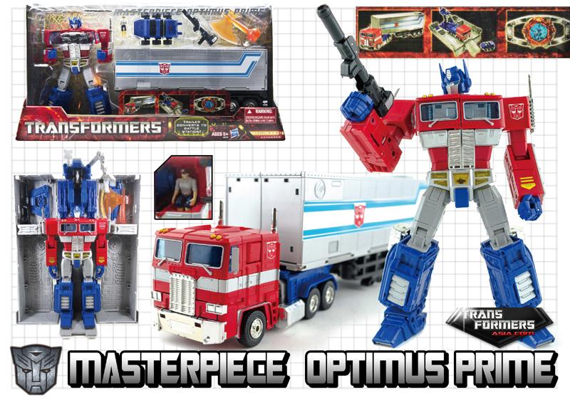 Transformers Asia Reissue of Hasbro Masterpiece Optimus ... Vintage Hasbro Toys