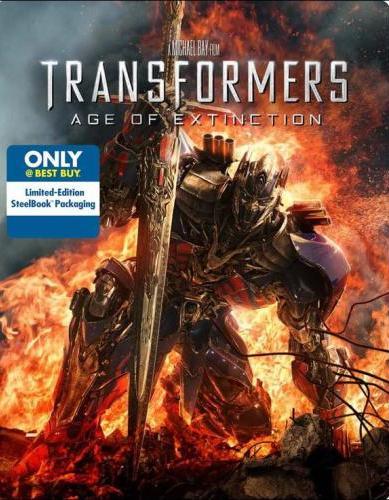Best-Buy-Exclusive-Transformers-4-Age-Of-Extinction-Blu-Ray-Steelbook-Pre-Order