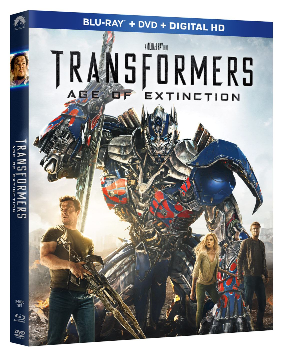 transformers 4 age of extinction home release and special features