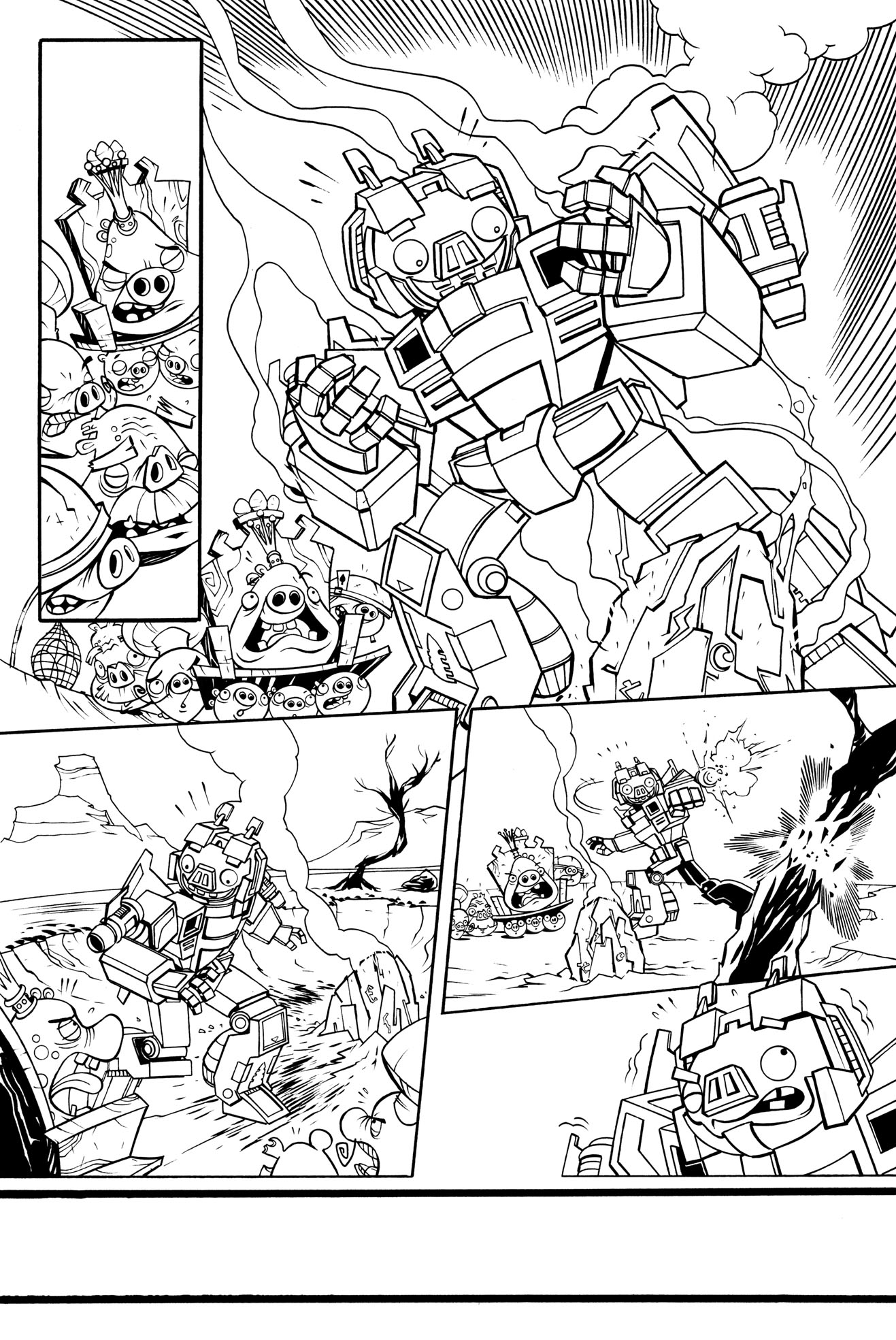 coloring pages angry birds transformers - photo#26