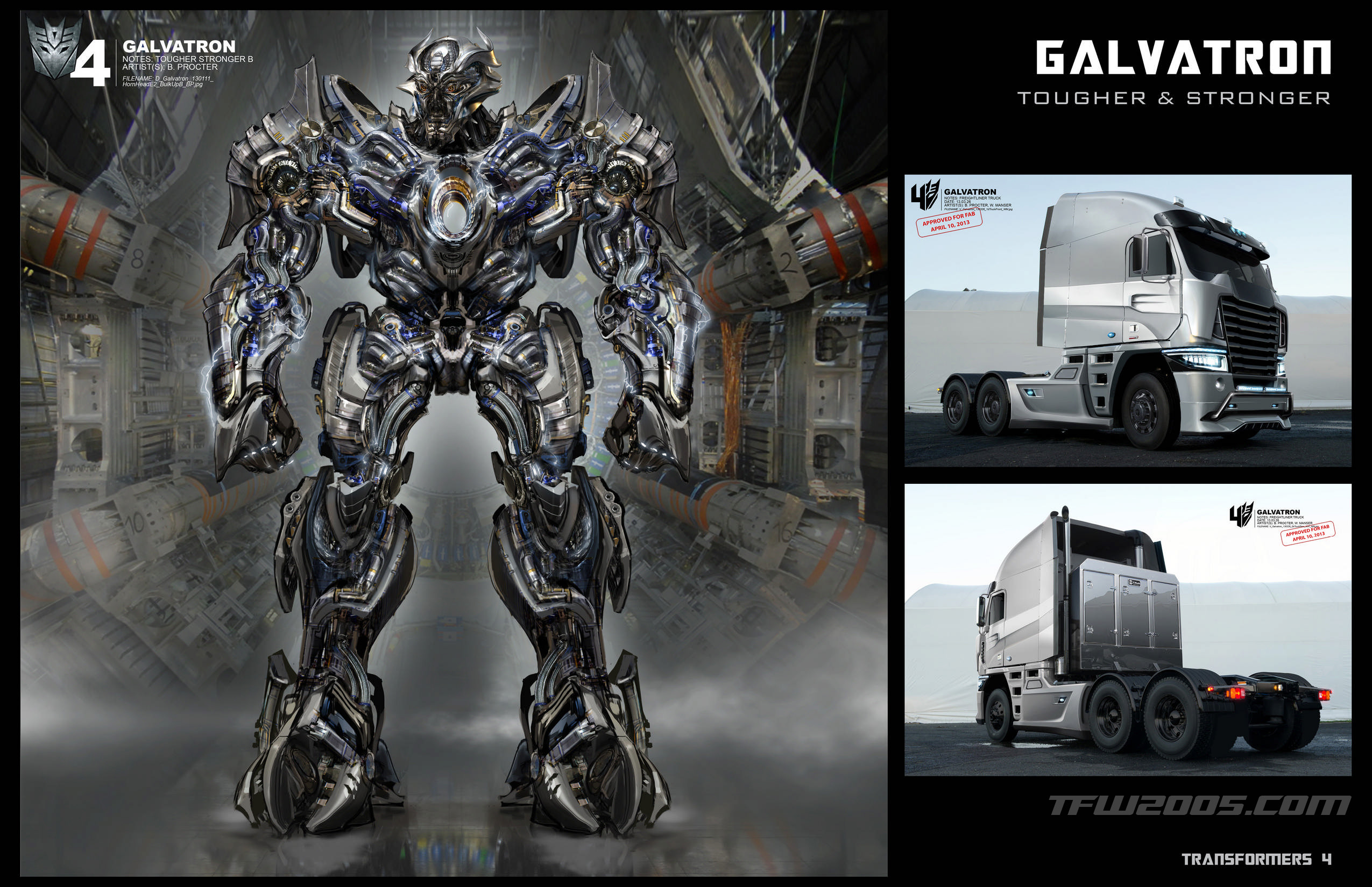 EXCLUSIVE Transformers Age Of Extinction Concept Art