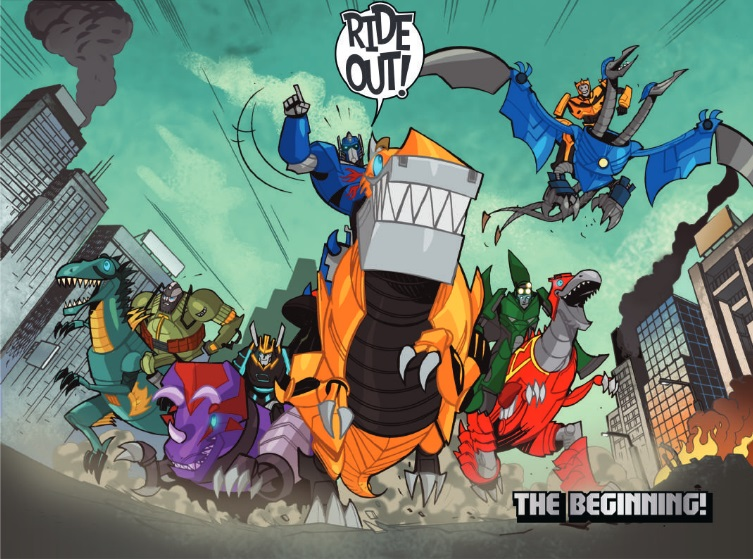 Transformers How To Ride A Dinobot Comic Available Online