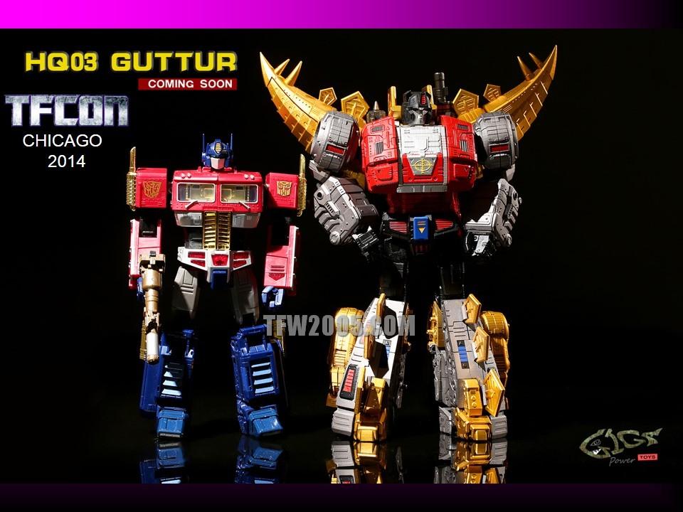 [GigaPower] Produit Tiers - Jouets HQ-01 Superator + HQ-02 Grassor + HQ-03 Guttur + HQ-04 Graviter + HQ-05 Gaudenter - aka Dinobots - Page 2 TFCon-2014-3rd-Party-086_1414272612